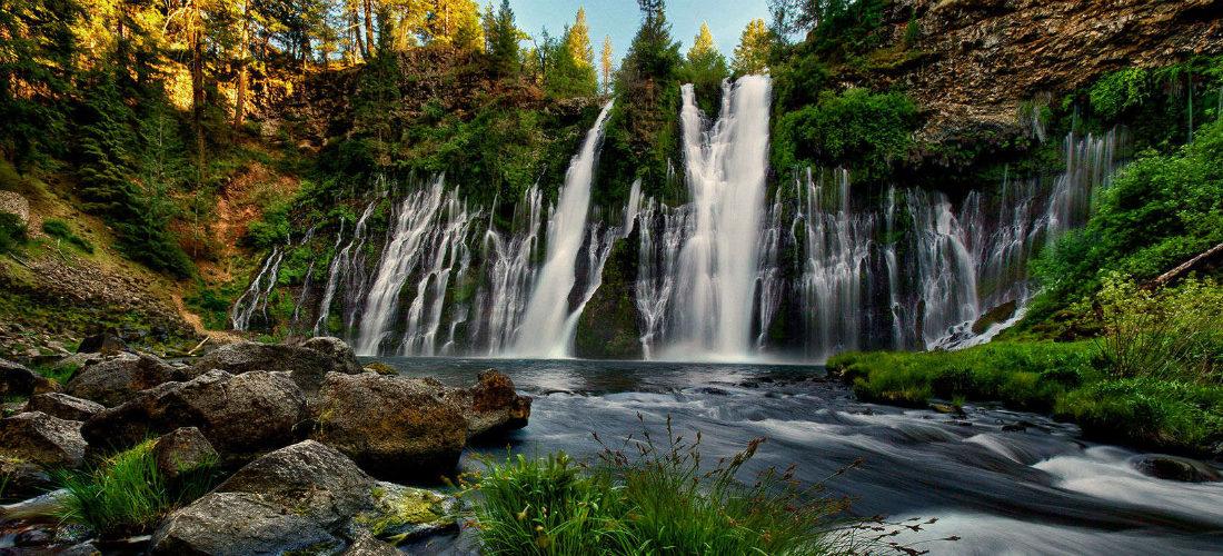 Mcarthur Burney Falls State Park Ca